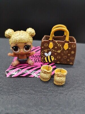 LOL Surprise Doll LIL Sister QUEEN BEE RETIRED Original Includes GOLD Ball