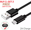 miniature 1 - 6FT OEM Type USB-C to USB-A Fast Charge Cable Cord Quick Charger Charging Sync