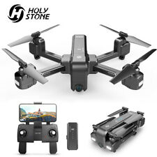 Holy Stone HS270 2.7K Selfie Drones with Video Camera Foldable RC Quadcopter GPS