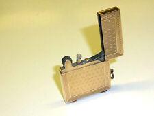 VINTAGE ART DECO 9CT GOLD ENGINE TURNED LIGHTER HALLMARKED FOR LONDON 1930 RARE