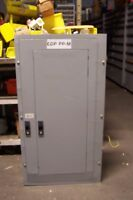GE 125 AMP MAIN BREAKER PANELBOARD 208Y/120 VAC 42 CIRCUIT 3 PHASE AQF3421ATX