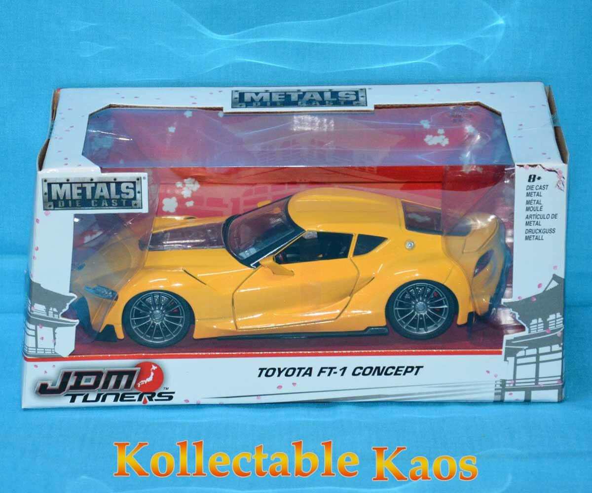 1 24 Jada - Toyota FT-1 Concept - Yellow