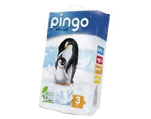 Pingo Couches Jetables écologiques Taille 3 4 9 Kg X4 Ebay
