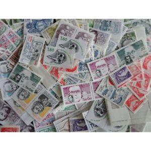 LOT DE 200 TIMBRES-POSTE A 1,6FFr VALEUR FACIALE 48€