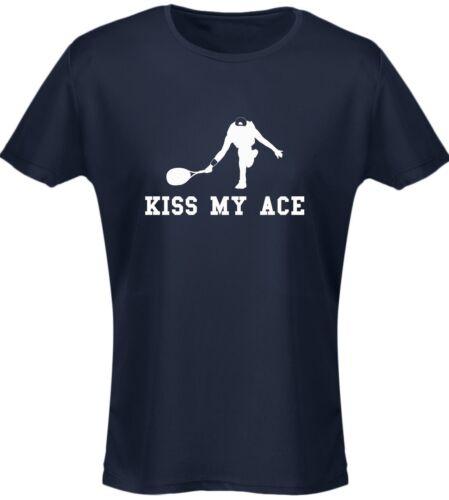 KISS My ACE TENNIS DA DONNA T-shirt 8 colori da swagwear