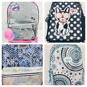 Image Is Loading Justice S Backpack Bookbag Full Size School Book