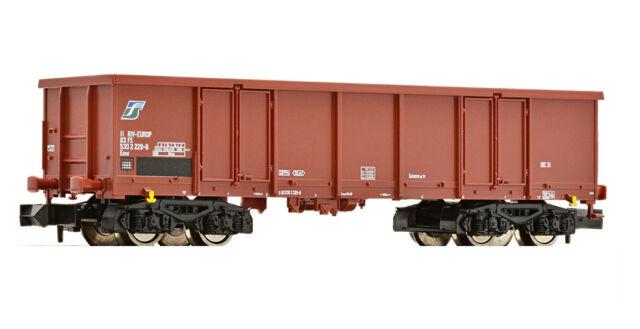 * Fleischmann Scala N 828333 Vagone aperto sponde alte Eaos FS Nuovo