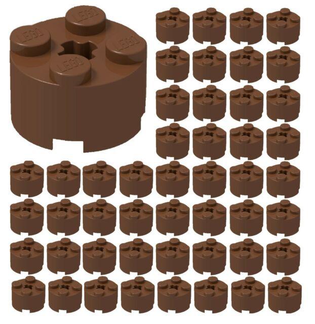 circa 2 x 2 con foro tracciato Used LEGO ® 4032-Piastra 500g-Pack-Round Parts