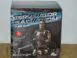 Terminator Salvation T-600 Busto Da Dc Illimité