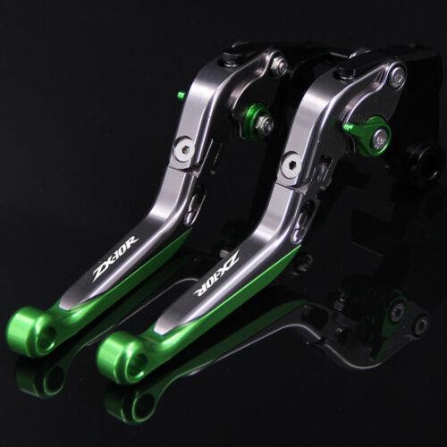 Brake Clutch Levers For Kawasaki ZX10R ZX-10R CNC Adjustable Folding Extending