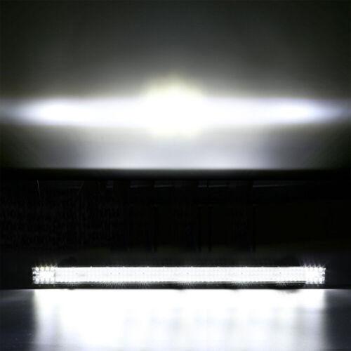 "Quad Row 44INCH 3600W LED Light Bar Combo Beam Roof Offroad Truck Boat 4X4 42/"""