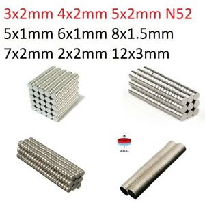 Wholesale-Super-Strong-N52-N50-Round-Disc-Neodymium-Magnets-Rare-Earth-100-500
