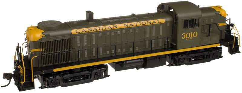 ATLAS 10001292 HO RS-3 CN 3010  Canadian Canadian Canadian National  - Brand Nuovo C-10 MINT d243bd