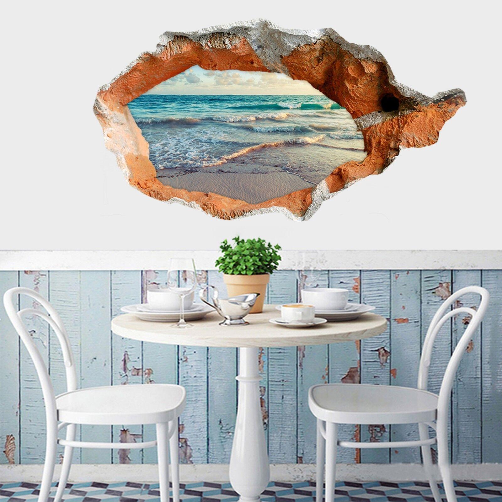 3D Meereswellen 169 Mauer Murals Mauer Aufklebe Decal Durchbruch AJ WALLPAPER DE