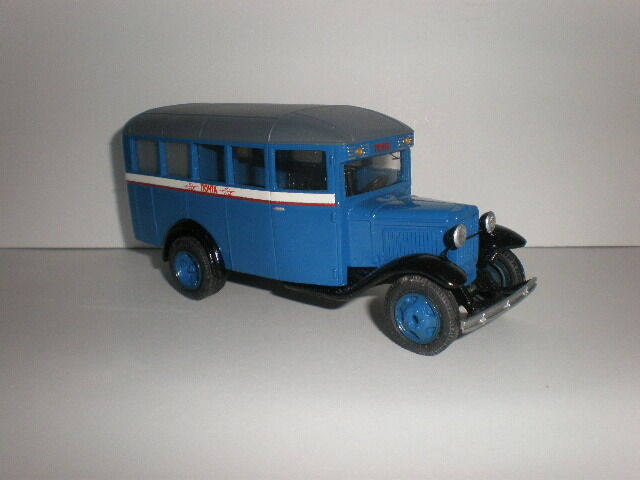 1 43 Russisch Postal Bus GAZ-03-32 591mS Handgefertigt