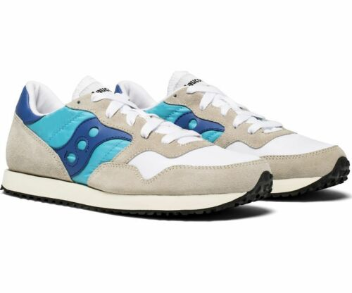 Original White Uk8 Dxn Vintage Off Trainers Teal New 5 Boxed Saucony qwAE171