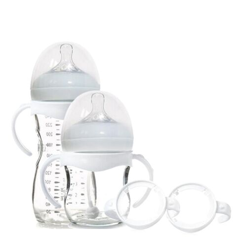 2X Bottle Grip Handle for Avent Natural Wide Mouth Feeding Bottle Accessories UK