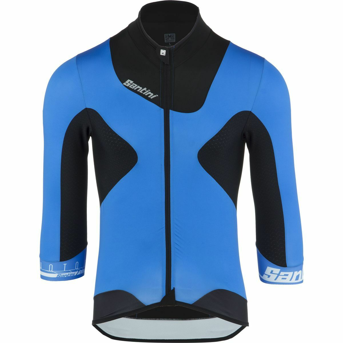 Photon 2.0 Aero Cycling Jersey with 3 4 length sleeves in bluee- by Santini