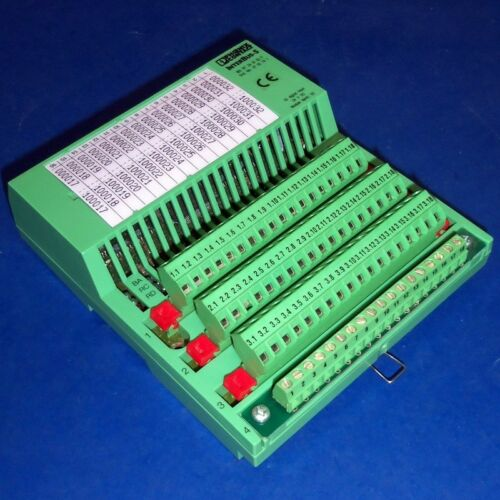 PHOENIX CONTACT InterBus-S 24VDC DIGITAL INPUT MODULE IBS RT 24 DI 32-T *PZF*