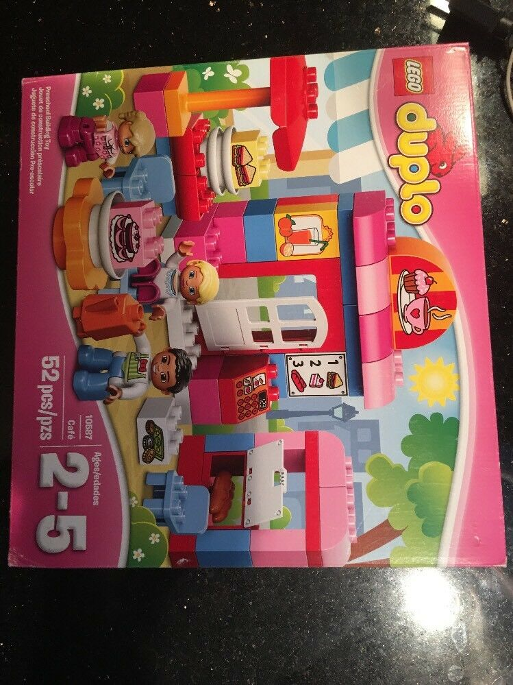LEGO DUPLO Cafe 10587 Brand new Factory Sealed