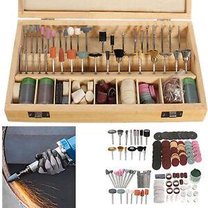 223 stk drehwerkzeug schleifset polierset drill zubeh r schleifer set f r dremel ebay. Black Bedroom Furniture Sets. Home Design Ideas