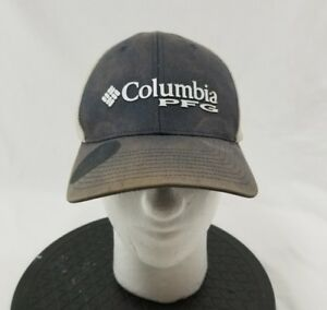 8a48cd48c2e Columbia PFG Professional Fishing Gear L XL Mesh Trucker Hat Cap Lid ...