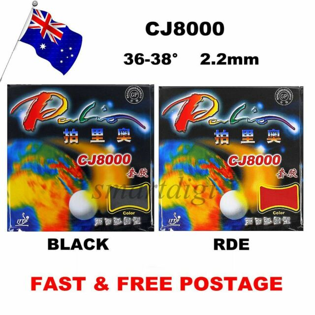Palio CJ8000(36-38°)Table Tennis Bat Pips Racket Rubber Loop Sponge+Attack Type