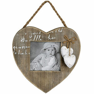 Magnificent Details About Shabby Chic Heart Photo Frame With Hearts Home Interior And Landscaping Ponolsignezvosmurscom