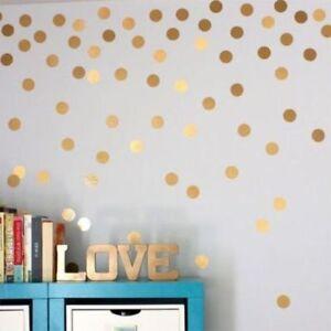 Polka-Dot-Circles-Wall-Art-Stickers-Kid-Decal-Art-Bedroom-Nursery-Vinyl-V27