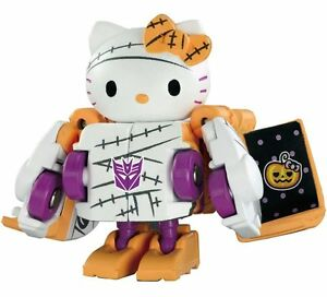 Transformers-Takara-Tomy-Sanrio-Q-QTC01H-Hello-Kitty-Halloween-100-Authentic
