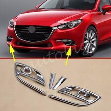 Chrome Fog Light Cover FOR Mazda3 BN 2017 Axela Mazda 3 M3 Trims Accessories