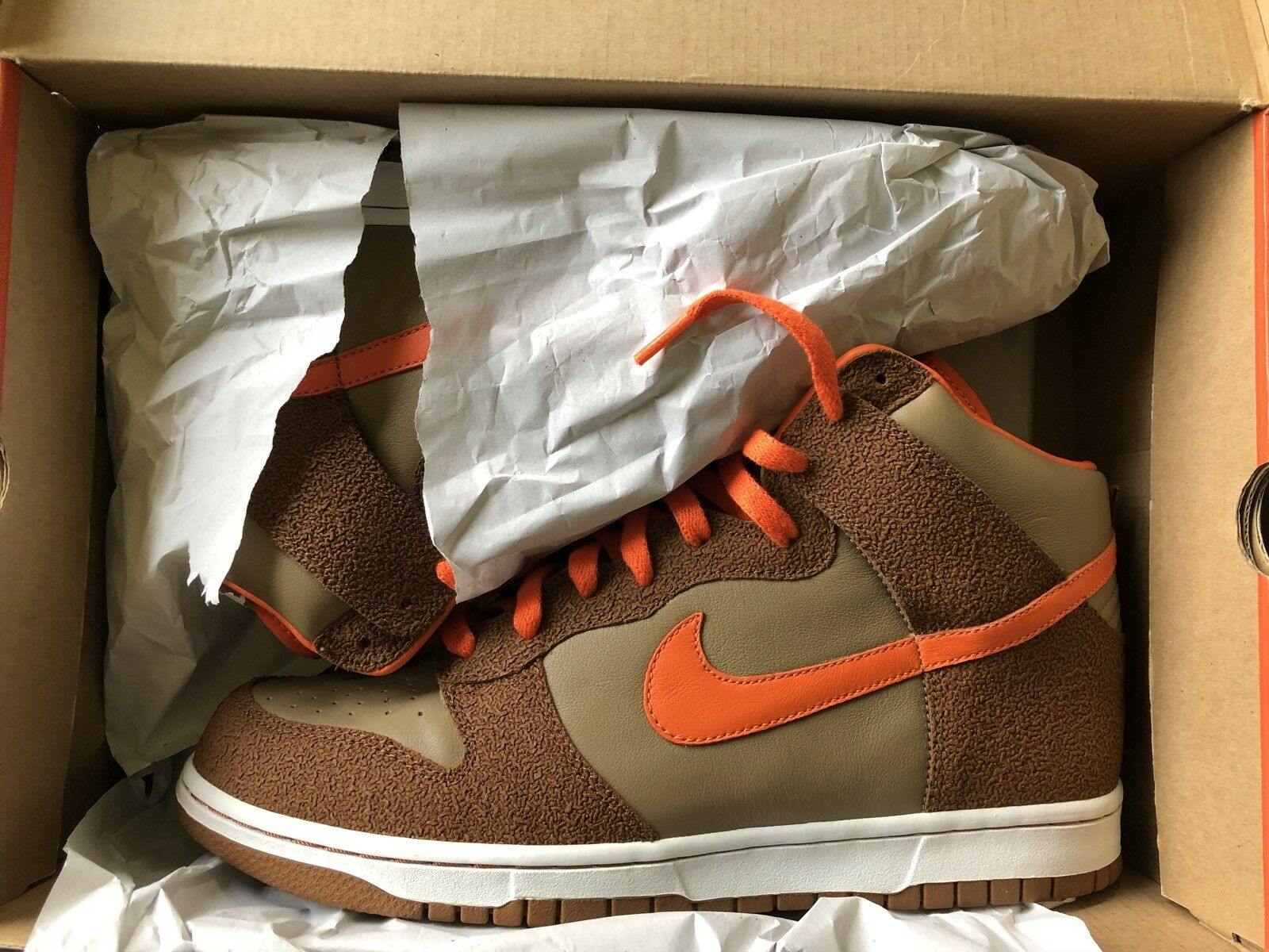 FREE PRIORITY SHIPPING Nike Dunk High Fantastic 4 the Thing SB
