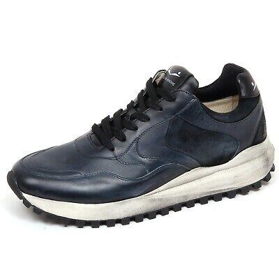 best sneakers 66f23 689e0 F4578 sneaker uomo dark blue VOILE BLANCHE LARRY scarpe vintage effect shoe  man   eBay