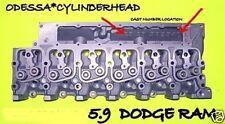NEW FIT DODGE RAM INTERNATIONAL 5.9 6B 6BT 6BTA 12V DIESEL CYLINDER HEAD LOADED