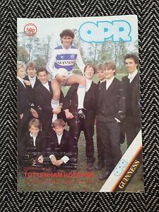 QPR-v-Tottenham-Spurs-1985-Programme-12-1-85-FREE-UK-POSTAGE-LAST-ONE