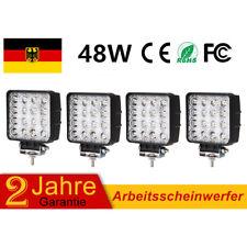 4X 48W LED Arbeitsscheinwerfer Offroad Scheinwerfer Traktor Bagger SUV 12V 24V