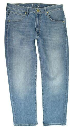 Mens Wrangler Slider Tapered Fit Jeans /'Blue Charm/' SECONDS WA170