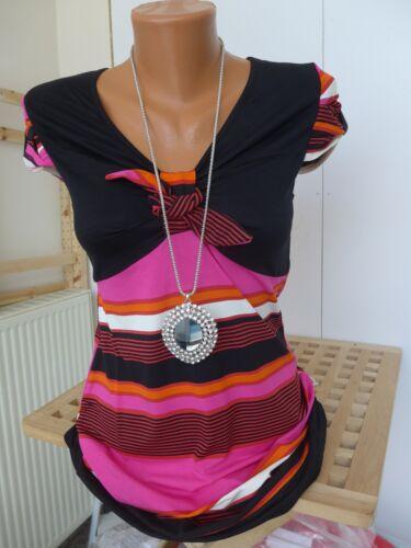 36 kurzarm NEU Heine Long Shirt Tunika Bluse Gr 497