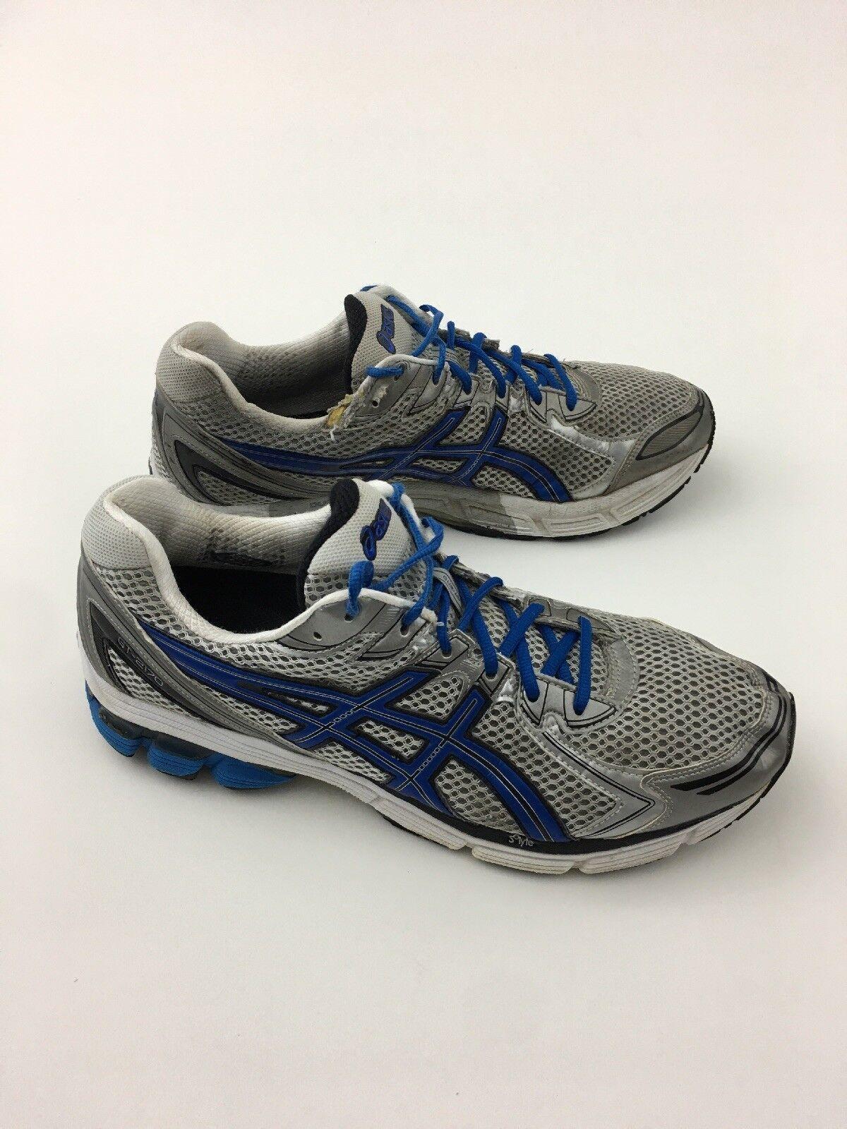 ASICS GT 2170 Running shoes,  T207N, White Royal Blk Slvr, Men's 13 2E, XWide