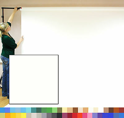 POLAR WHITE Creativity Photographic Background Paper 2.72 x 11m Roll - 111228