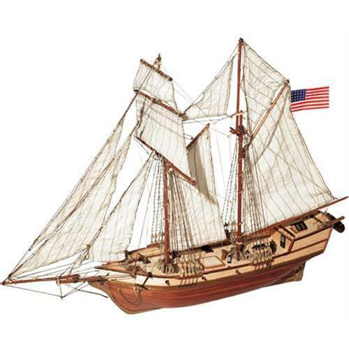 Occre Albatros Schooner 1 100 Scale Model Boat Display Kit 12500