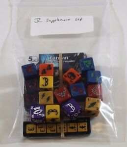 DC Dice Masters WORLD/'S FINEST Starter SUPPLEMENT SET w// Extra Dice