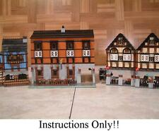 GET 100+ CUSTOM LEGO INSTRUCTIONS like MODULAR MEDIEVAL PUB great for Lego 7189