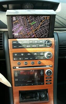 05-06 Infiniti G35 CD Radio Navigation Screen Climate Control Unit 30200AC981B