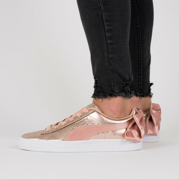 WOMEN'S SHOES SNEAKERS PUMA BASKET BOW LUXE WNS [367851 01]