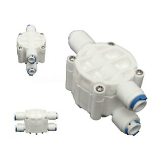 4-Way-1-4-039-039-Port-Auto-Shut-Off-Valve-For-RO-Reverse-Osmosis-Water-Filter-LJ