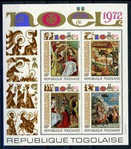 Togo MiNr. Block 69 postfrisch MNH Weihnachten (Wei736