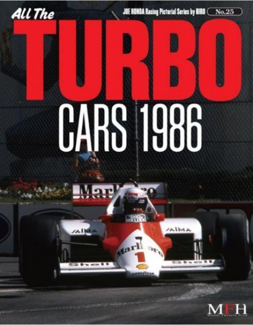 Mfh Buch No25. Sämtlichen Turbo Cars 1986 Senna Rennsport Gepunktet Serie Door