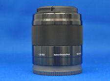 Sony SEL50F18 E 50mm F1.8 OSS Black Lens Japan Domestic Version New