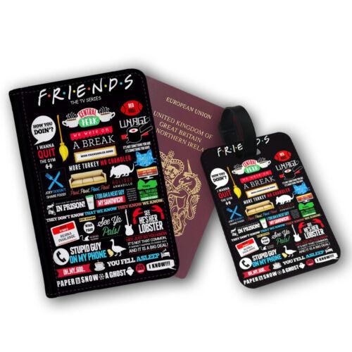 Friends sitcom tv guillemets Art comment vous allez Voyager protection Flip cover case